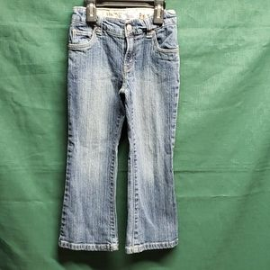 Girls Levi's jeans sz 6 regular,  flare
